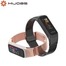 Pour Huawei bande 4 Bracelet Bracelet pour Bracelet dhonneur 5i Bracelet intelligent Bracelet en métal pour Huawei 4 bandes Pulseira montre-Bracelet