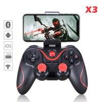 Геймпад X3 Беспроводной Bluetooth Джойстик ПК с системой андроида и игровая консоль контроллер BT4.0 игровой площадкой для Мобильный телефон планш...