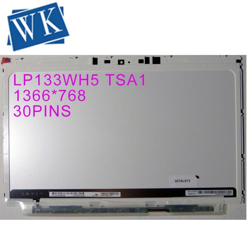 Frete grátis novo 13.3 slim slim magro tela lcd para hp spectre xt pro 13 LP133WH5-TSA1 lp133wh5 tsa1