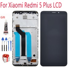 عرض ل شاومي Redmi 5 زائد شاشة LCD مع الإطار شاشة تعمل باللمس عرض على ل Redmi 5 زائد LCD 5.99 بوصة 2160*1080 عرض