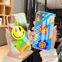 indie kids aesthetic art phone case transparent case for iphone 6 6s 7 8 plus xr x xs xsmax 11 12 pro mini max