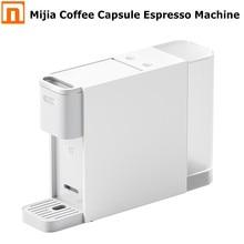 2020 Xiaomi Mijia кофе в капсулах Эспрессо машина 600 мл 20 бар экстракция одним нажатием настольная кофеварка для дома и офиса