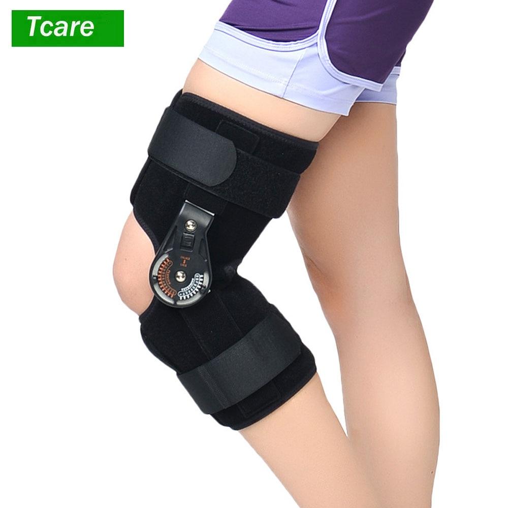 1 pces joelho joint brace suporte ortose/ajustável/médica ligamento esporte lesão splint joelho fratura protector s, m, l