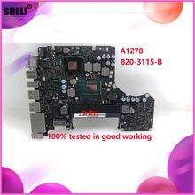 SHELI für A1278 820-3115-B laptop Motherboard E3428719 SLJ8C 2012 MD101 MD102 Logic Board i5 SR0N0 2,5 GHz 100% getestet gute arbeit