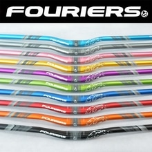 Fouriers alaşım dağ bisikleti gidon bisiklet kolu 31.8mm * 720 780mm 25mm Rise Enduro AM FR XC DH bisiklet gidon