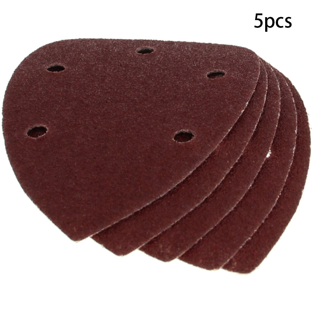 140*90mm Triangle Delta Sander Sand Paper Hook And Loop Self-adhesive Sandpaper Disc Abrasive Tools For Polishing Grit 40-240