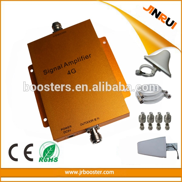 Amplificador de señal de teléfono móvil 4G LTE, repetidor inalámbrico de 800MHz para móvil, 4g lte, amplificador de 2600MHz y 700MHz