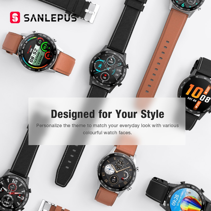 Smart Watch Bluetooth Call  Men Sport Fitness Bracelet Clock Watches For Android Apple Xiaomi Huawei correas apple watch