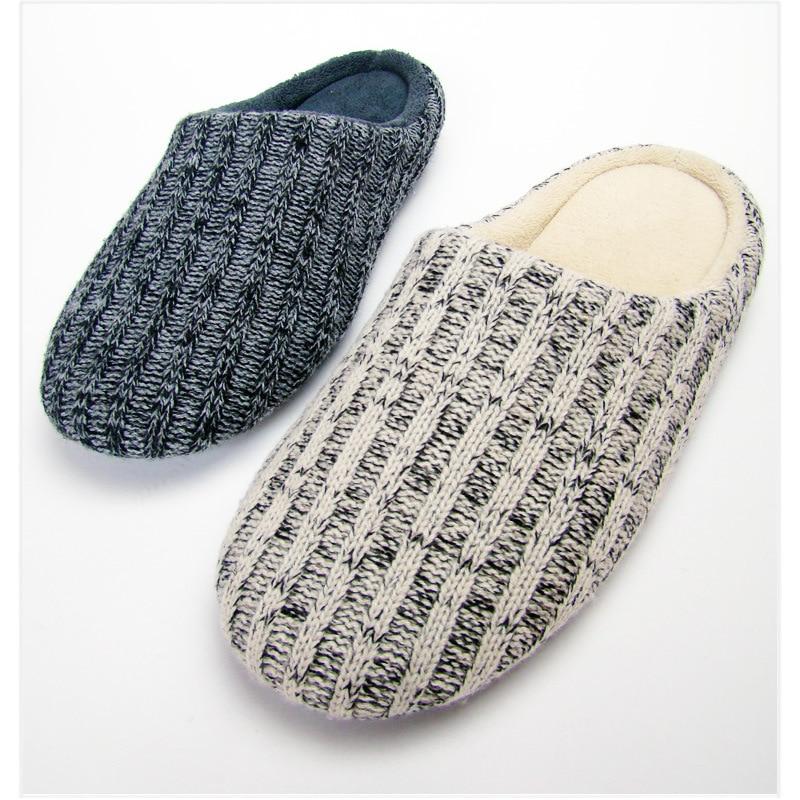 Zapatillas MAGGIES, zapatillas suaves de casa para hombre y mujer, pantuflas cálidas para invierno, zapatillas suaves de Interior para dormitorio, zapatillas kapcie