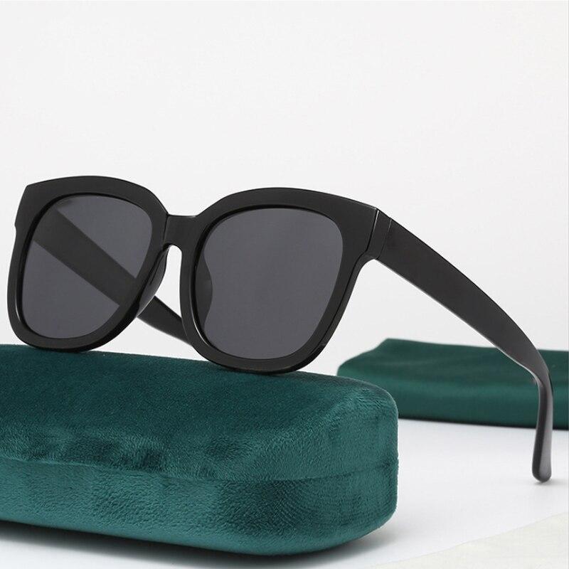 نظارات شمسية 5-24 للجنسين + صندوق أخضر