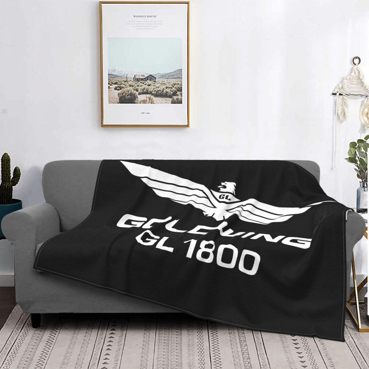 هوندا Goldwing Gl1800 شعار الرجال السود حجم S متر L Xl 2Xl 3Xl نوعية جيدة العلامة التجارية نمط الفانيلا بطانية