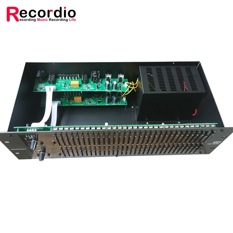GAX-1231 dj equipment audio equipment audio sound system Graphic equalizer Dual Channel 31 Band Karaoke 1231 Equalizer enlarge