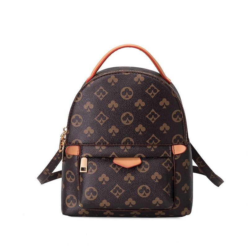 Роскошные брендовые дизайнерские женские рюкзаки, Модный женский рюкзак, женский многофункциональный рюкзак, рюкзак для школы, новинка 2021