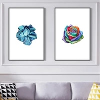 modern flower still life poster wall painting art printing home room simple decoration painting no outer frame