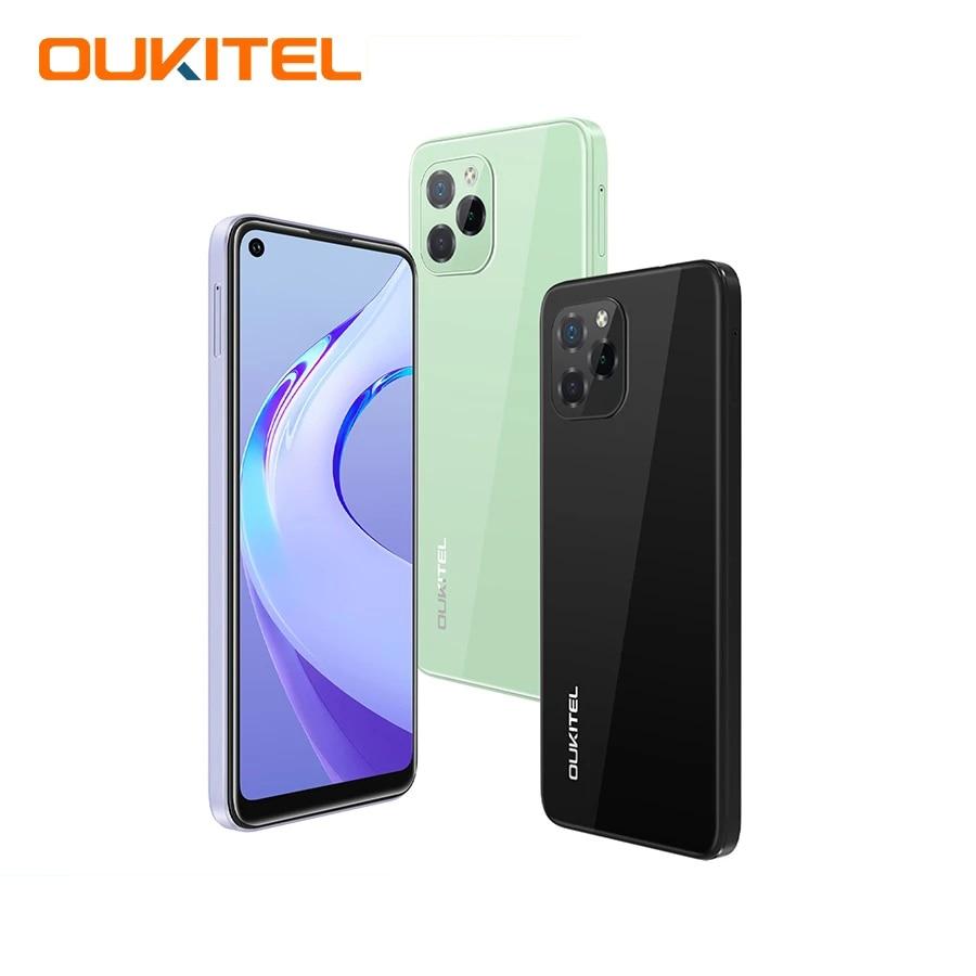 Перейти на Алиэкспресс и купить Oukitel C21 Pro смартфон 6,39 дюймHD + 4000 мАч 4 Гб 64 ГБ Android 11 Восьмиядерный мобильный телефон 21MP Quad Camera 720*1560 мобильный телефон