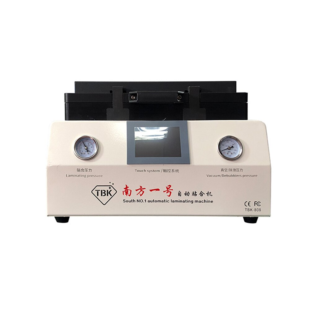 TBK 808 12 inch LCD Touch Screen Repair Automatic Bubble Removing Machine OCA Vacuum Laminating Machine with automatic lock gas