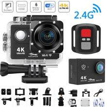 H9R caméra daction Ultra HD 4K WiFi télécommande Sport caméra vidéo 2.0