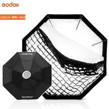 "Godox 120cm 47"" Octagon Bowens mount Softbox Flash Studio Photo Light Soft Box with Honeycomb Grid for DE300 DE400 SK300 SK400"