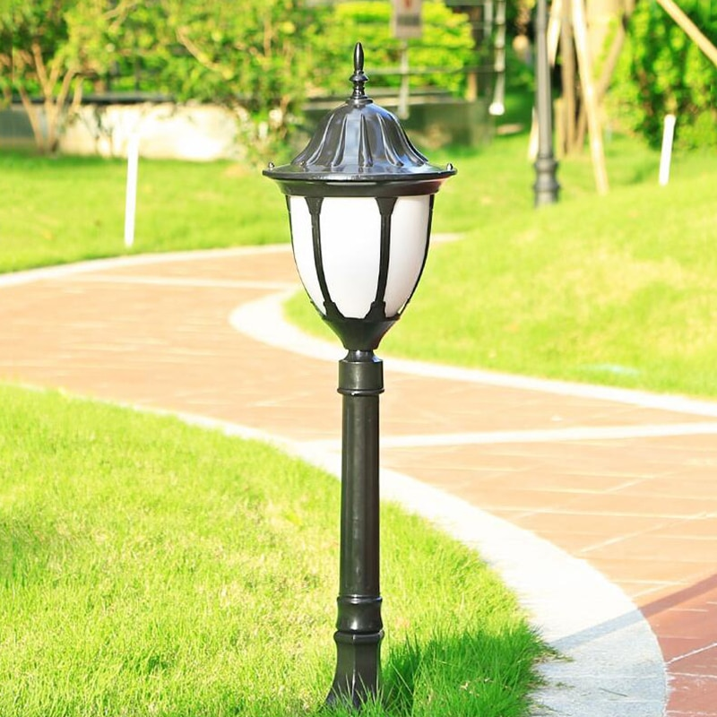 Outdoor Patio Waterproof Lawn Light Garden Landscape Light Park Garden High Pole Street Light Pathway Lighting Led Floor Lamps enlarge