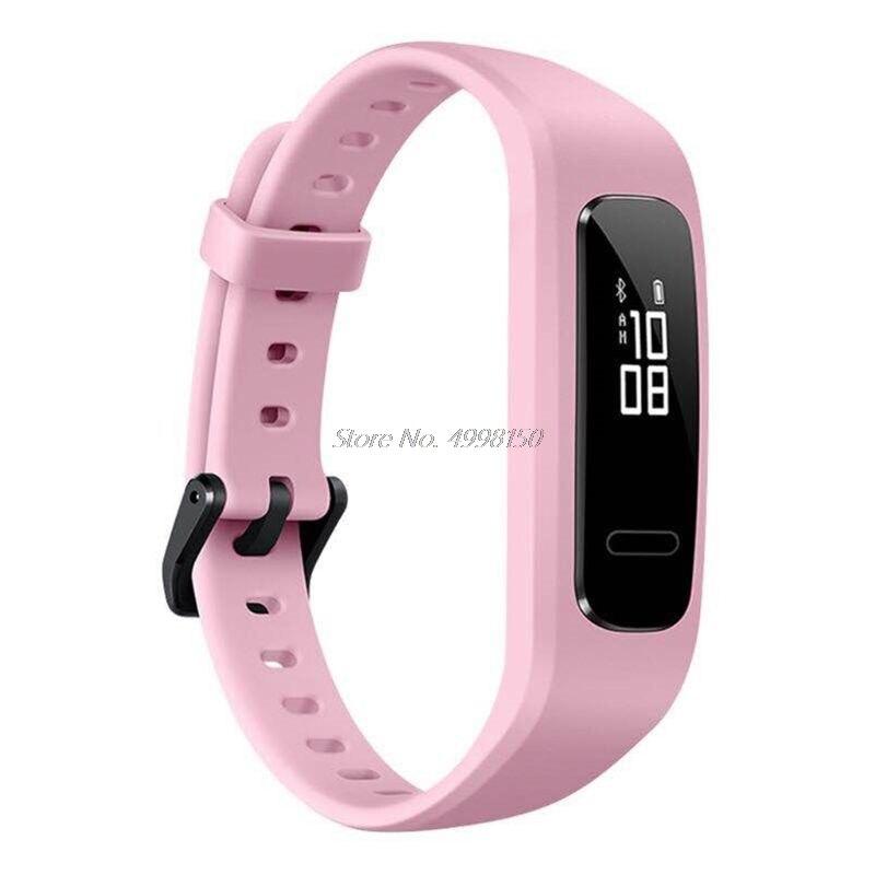 Correa de muñeca correa de reloj de TPU ajustable, pulsera deportiva de repuesto para Huawei 3E/ Honor Band 4 versión para correr Dropship