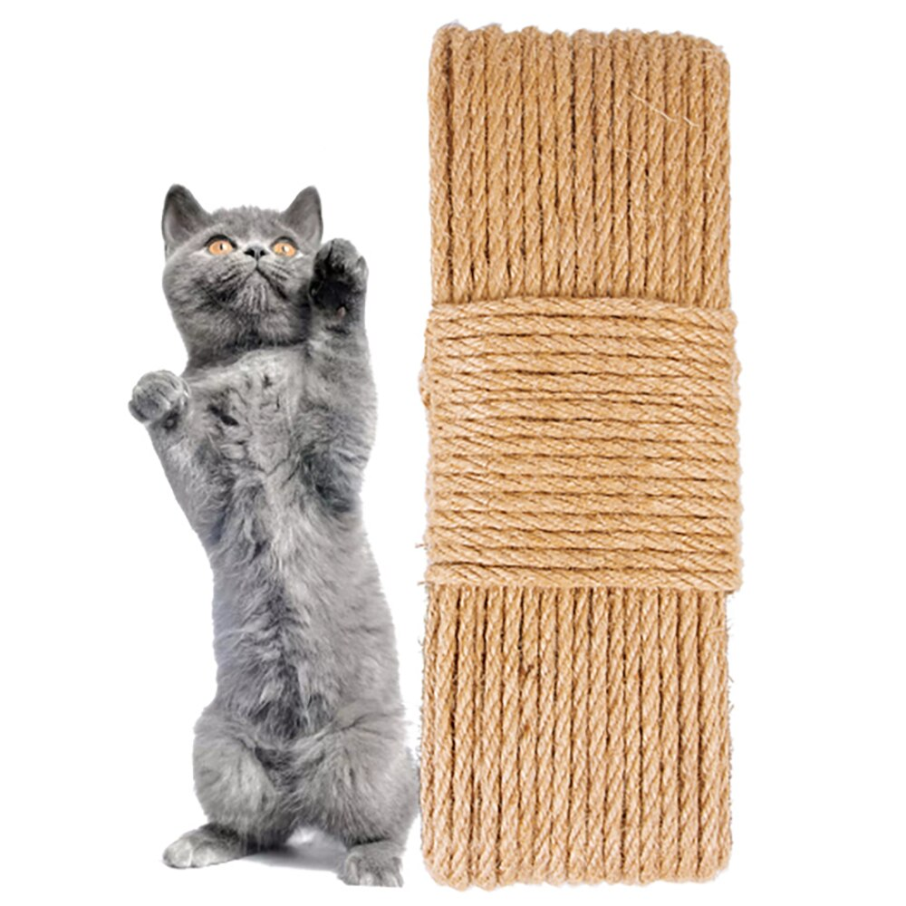 Scratching Post for Cats DIY Sisal Rope Cat Tree House Tower Replacement Cat Tree Scratching Toy Cat Climbing Frame Binding Rope cat tree with sisal scratching post 95 cm