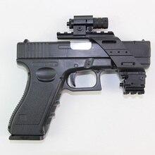 Base de polymère en plastique de pistolet universel tactique pour Glock 17 19 Beretta M9