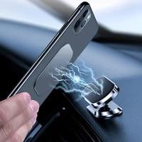 uigo magnetic car phone holder dashboard magnet phone stand steering wheel holder car phone mount for iphone 11 samsung xiaomi