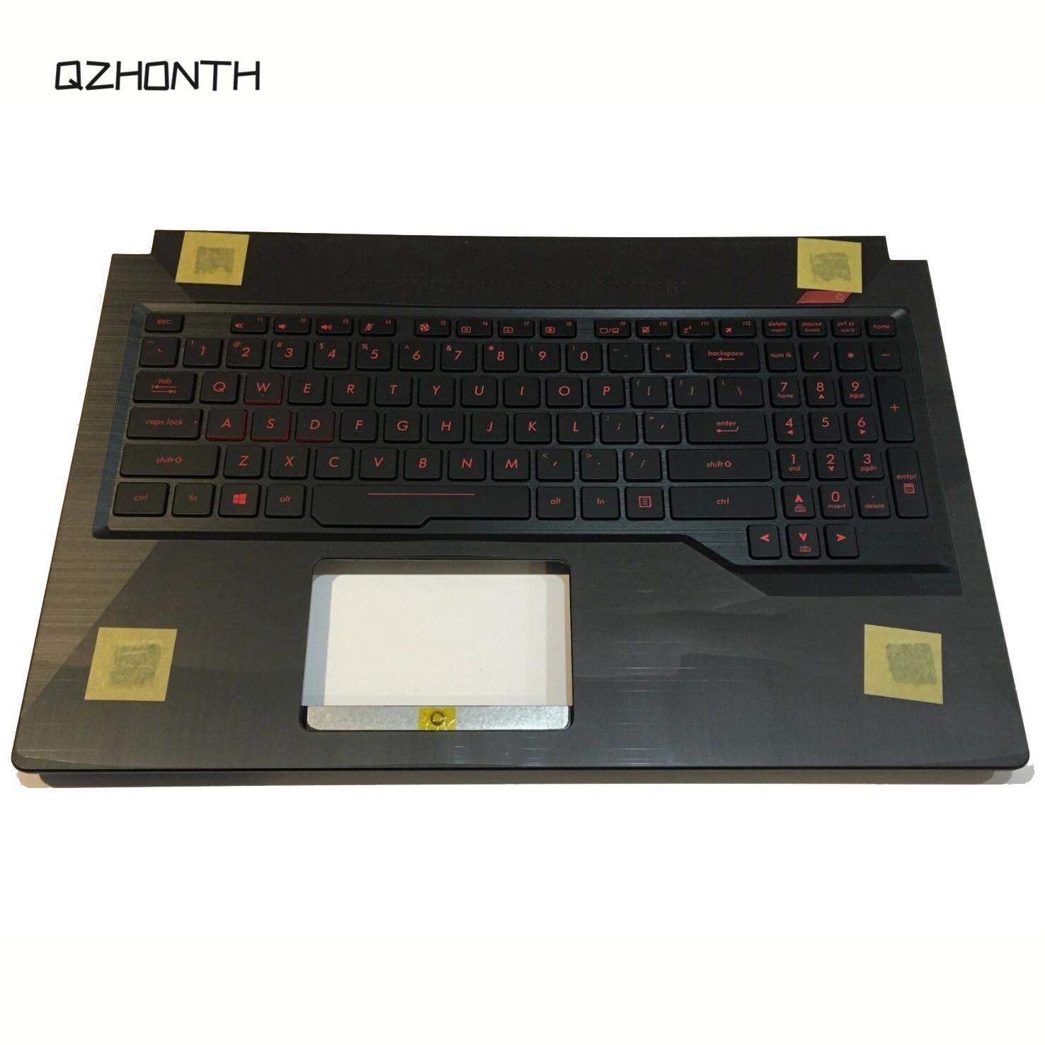 Portátil para Asus FX503VD, FX503VD-EH73, Cubierta superior con reposamanos con teclado US 90NR0GN1-R31US0