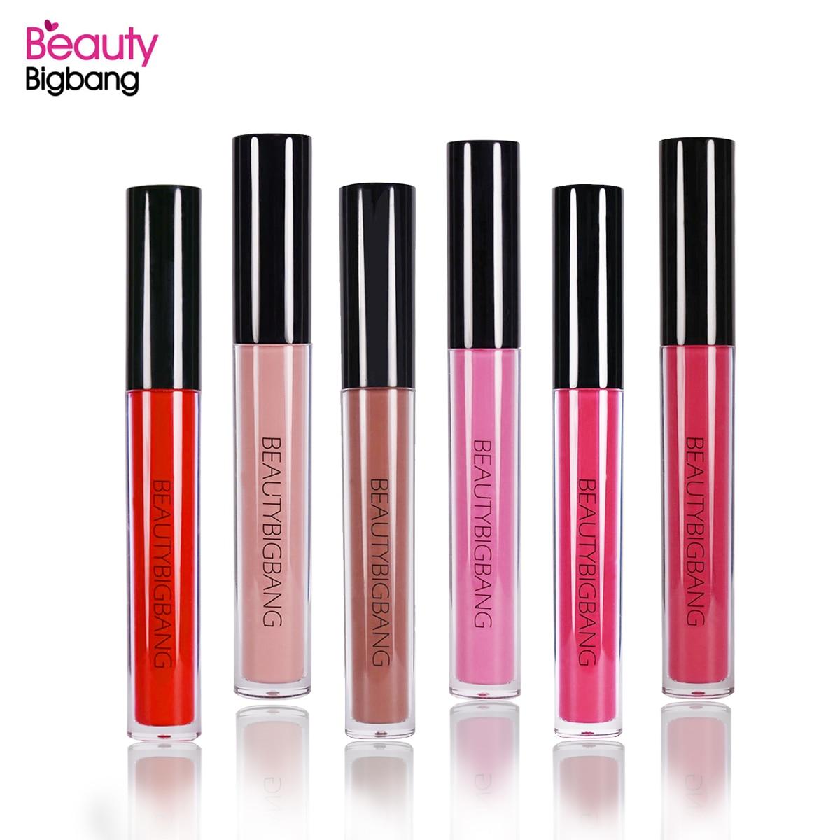 BeautyBigBang, новая жидкая помада, краска для губ, розовый, красный, 6 цветов, матовая помада для губ, водостойкая, стойкий блеск для губ, набор