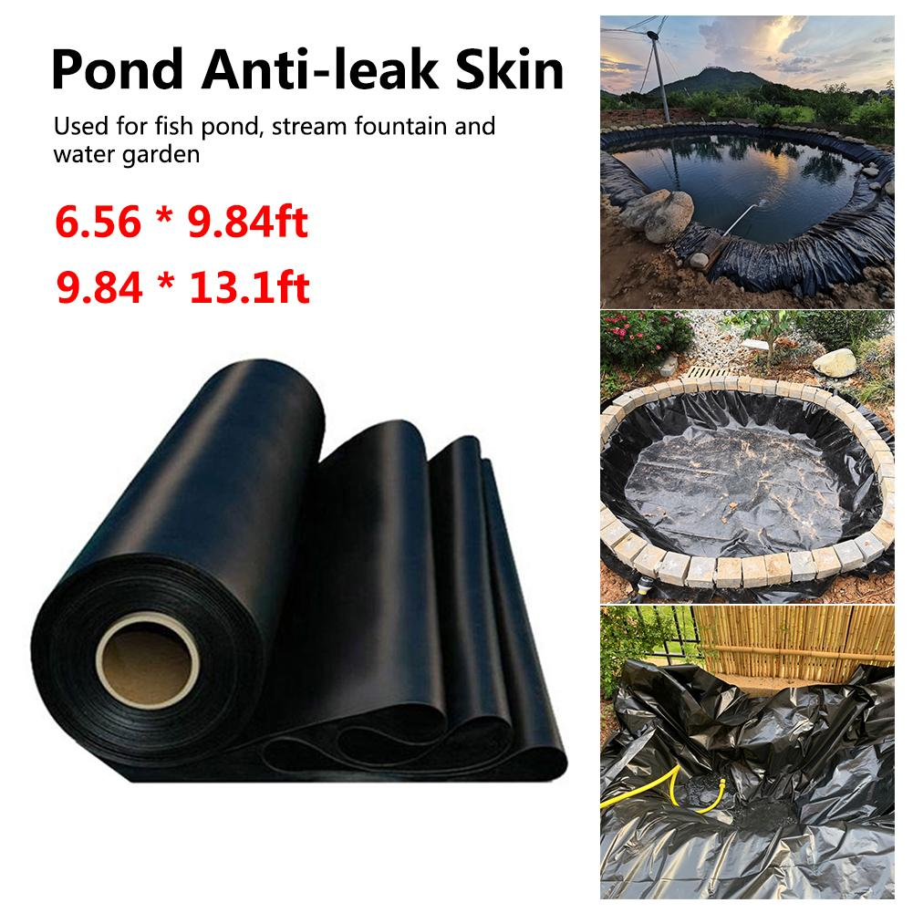 Espesor delineador impermeable película peces estanque de jardín piscina reforzado pesado garantía paisajismo piscina estanque jardín herramienta