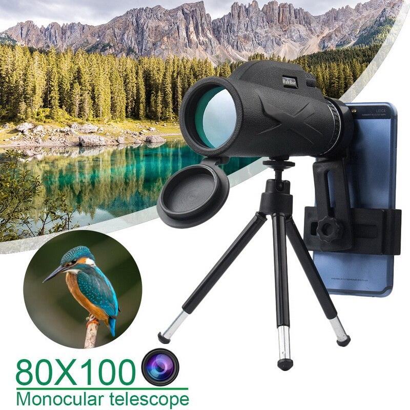 Kits de cámara óptica con Zoom 80X100, lente telescópica de gran angular Universal para teléfono móvil Samsung/Xiaomi