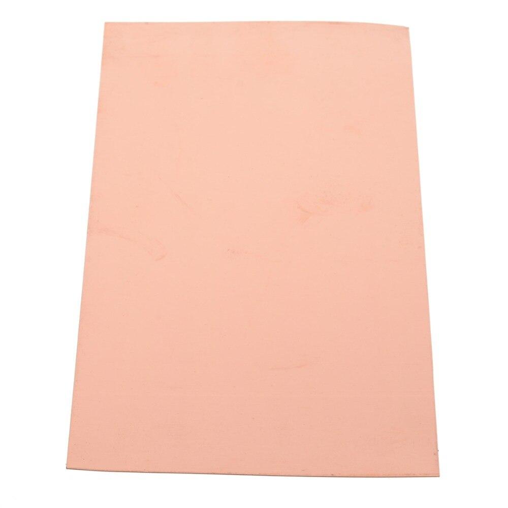 1pc novo 99.9% cobre puro cu folha de chapa metálica painel 100*200*0.5mm para fornecimento da indústria