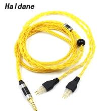 Haldane 1.25M 3.5Mm 2.5Mm Xlr 4.4Mm 8Core Verzilverd Occ Hoofdtelefoon Upgrade Kabel Voor Sennheiser HD580 HD600 HD650 Hdxxx HD660