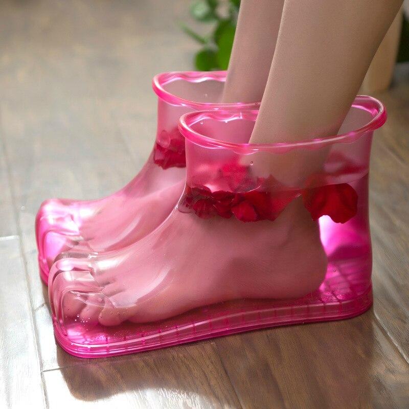Bathroom men's and women's foot bath shoes home bathroom home creative massage foot washing artifact foot washing tub