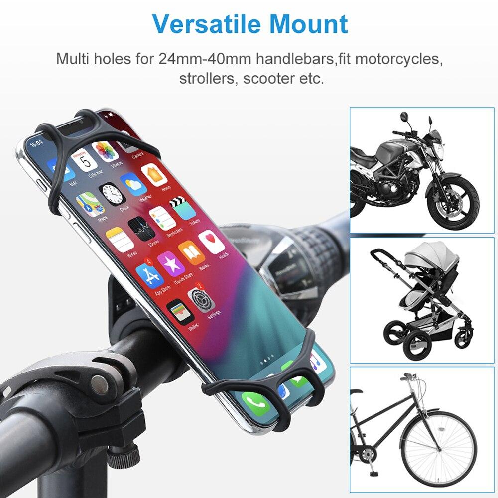 Soporte de teléfono para bicicleta, soporte de teléfono móvil para motocicleta, soporte Celular para Xiaomi Gsm Houder Fiets 2020, calidad barata