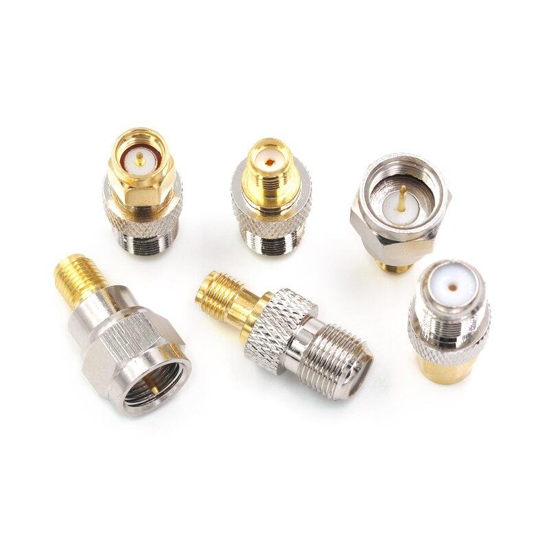 ¿RF-Adaptador de cable coaxial de RF conector macho hembra tipo F de...