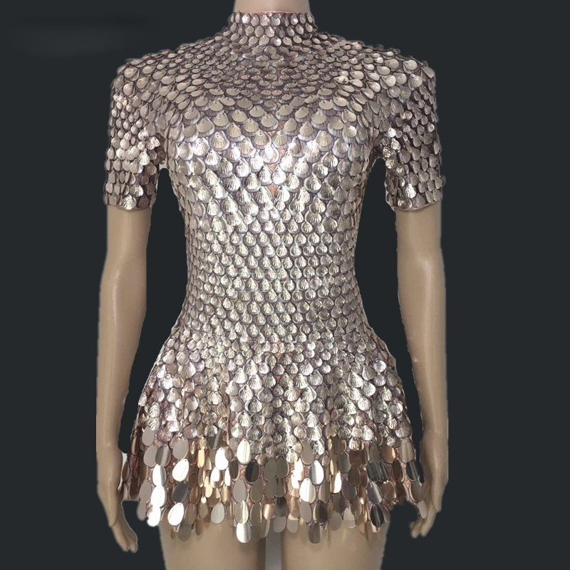 ساطع جميل الترتر فستان مصغر زي احتفال حجر الراين ارتداءها عيد ميلاد الفضة فساتين مثير ملهى ليلي يوتار