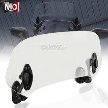 Motorrad Windschutzscheibe Verlängerung Spoiler Windschutz Air Deflektor Für YAMAHA MT01 MT03 MT07 MT10 MT09/SR FZ09 FJ09 TRACER 900