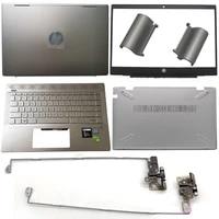 laptop lcd back coverfront bezelhingehinges coverpalmrestbottom case for hp pavilion 14 ce l19174 001 l19181 001 l19190 031