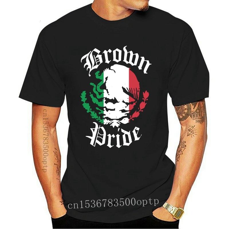 New Brown Pride T-Shirt   Mexican Flag Tshirt Gift
