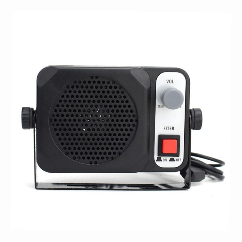 Mini haut-parleur externe ts650   Pour Yaesu Kenwood ICOM Motorola Ham Radio CB Hf transmetteur de voiture, walkie-talkie