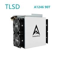 tlsd used avalon miner a1246 90t bitcoin miner btc mining machine 3420w with psu in stock