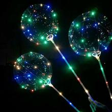 LED Beleuchtung Welle Ballon Scheint Hell Festival Nacht Markt Hochzeit Party Dekoration Blinkende Lichter Ballon