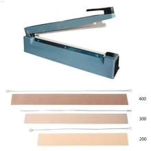 Machine de cachetage de bande délément de fil de chaleur de scelleur dimpulsion de 200/300/400mm rêvée l29k