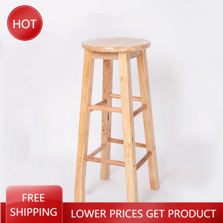 Роскошный обеденный барный стул, деревянный минималистичный роскошный скамейка в скандинавском стиле, скамейка, стулья для ресторана, дере...