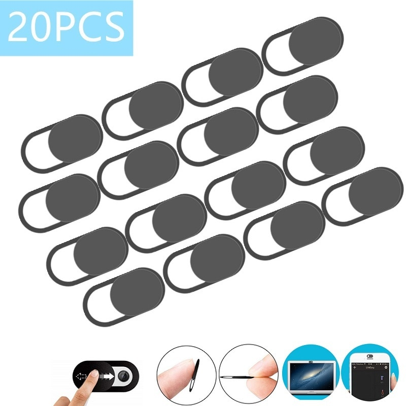 20PCS Webcam Cover Camera Privacy Protective Cover For Web Laptop iPad PC Macbook Tablet lenses Priv