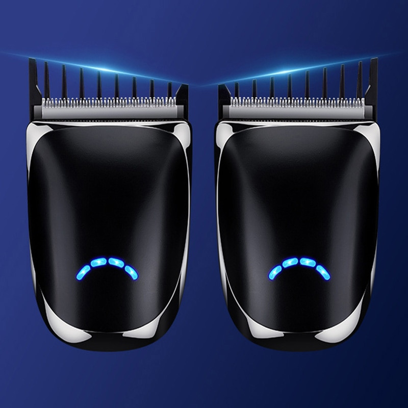 Self-Help Electric Hair Clipper Mouse Shape Handy Washable Haircut Grooming USB Rechargeable Hair Trimmer Hairdressing Tool enlarge