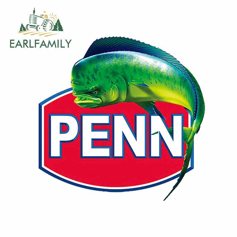 EARLFAMILY-pegatina de reparación creativa para Penn, calcomanía de camión de imitación de...