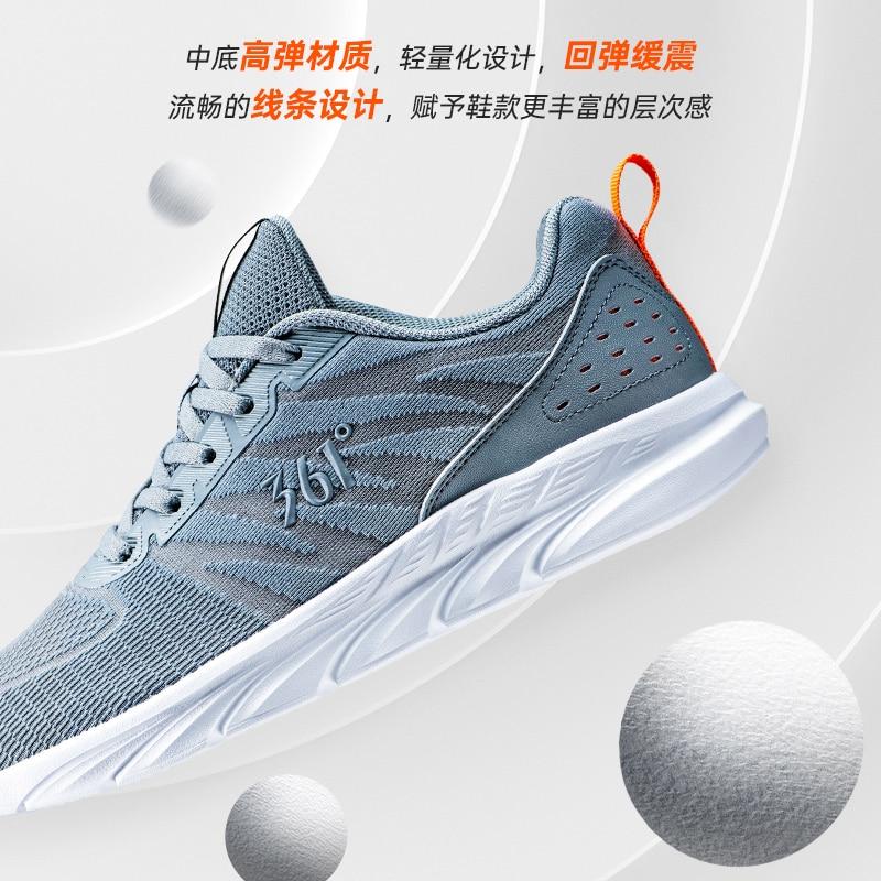 361 zapatos para hombre 2020 novedad de verano Zapatos de malla transpirable zapatos para correr para jóvenes 361 grados amortiguación zapatos para correr para hombres