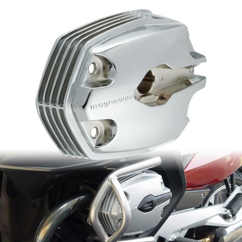 دراجة نارية اليسار الكروم غطاء رأس الأسطوانات علبة المرافق لسيارات BMW R1200GS R1200R R1200RT R900RT